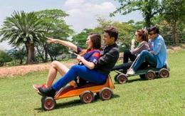 Nghỉ lễ à, cần gì đi đâu xa khi ngay giữa Sài Gòn có chốn vui chơi tuyệt thế này