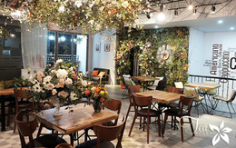 Khám phá quán cafe hoa lãng mạn như phim ngôn tình tại Times City