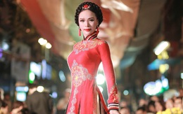 Á hậu Doanh nhânNgọcQuỳnhnổi bật tại sự kiện văn hóa
