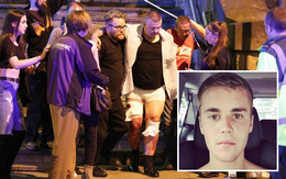 Fan van xin Justin Bieber hủy concert ở Anh sau vụ đánh bom trong concert Ariana Grande
