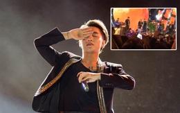Clip: Sơn Tùng M-TP xin lỗi và dừng hát vì fan hâm mộ ngất xỉu