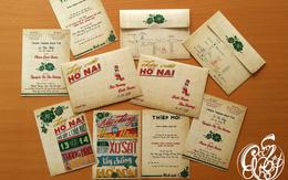 """Sáng tạo thế chứ, thiệp cưới lấy cảm hứng từ """"Cô ba Sài Gòn"""" với poster đẹp như phim!"""
