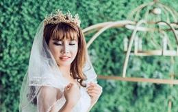 """Trọn bộ ảnh mặc váy cô dâu của Phượng """"Thị Nở tái sinh"""" khiến nhiều người ngỡ ngàng"""