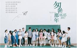 Chẳng cần cầu kì hay diễn sâu, chỉ cần đứng bên nhau là lớp nhà người ta đã có được bộ ảnh kỉ yếu đẹp như poster phim rồi!
