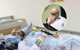 Bố của thầy giáo ngoại quốc bị ung thư máu bật khóc, cúi đầu cảm ơn người Việt giúp đỡ chữa bệnh cho con trai