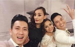 Lê Thúy, Đỗ An cùng dàn sao Việt khoe ảnh nhắng nhít mừng đám cưới cựu thành viên nhóm AC&M