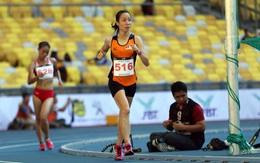Việt Nam mất HC vàng đi bộ vì VĐV Malaysia… chạy về đích