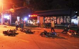 Hiện trường vụ 4 ô tô và gần chục xe máy đâm liên hoàn ở Sài Gòn