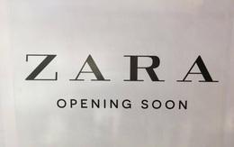 """Zara treo biển """"Opening Soon"""" to đùng tại Vincom Bà Triệu, ngày khai trương đến gần lắm rồi"""