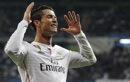 """Ronaldo thành trò cười khi học chiêu """"lườm rau gắp thịt"""" của Ronaldinho"""
