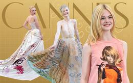 """""""Tiên nữ giáng trần"""" là câu miêu tả chính xác Elle Fanning tại LHP Cannes các năm!"""