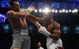 """Joshua hạ knock-out """"tiến sĩ búa thép"""" Klitschko sau 11 hiệp đấu kịch tính"""