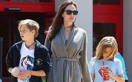 Tài sản hàng nghìn tỷ đồng, Angelina Jolie vẫn dẫn các con đi mua sắm ở siêu thị giá rẻ