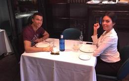 Lâu lắm rồi Ronaldo mới có thời gian riêng tư, lãng mạn cùng Georgina
