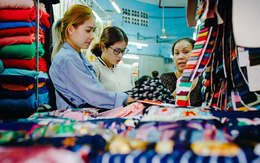 Chùm ảnh: Ghé thăm chợ Soái Kình Lâm - thiên đường vải vóc lâu đời và nhộn nhịp nhất ở Sài Gòn