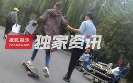 Tình cảm như bạn trai Đường Yên: Nàng đòi trượt ván, chàng nắm chặt tay đi bộ bên cạnh