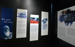 """Nghẹn ngào triển lãm """"Dấu ấn"""" tri ân cố nhà giáo Văn Như Cương nhân ngày 20/11"""