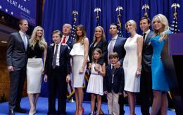Nếu cả nhà ông Donald Trump chuyển tới Nhà Trắng, đây sẽ là đại gia đình đông nhất từng sống ở đây!