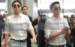 """Seungri diện áo sơ mi trắng """"soái ca"""", xuất hiện cực cool ngầu tại sân bay"""