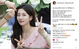 Đăng lời nhắn cùng loạt ảnh đẹp rạng rỡ hậu chia tay, Suzy nói điều gì đầu tiên?
