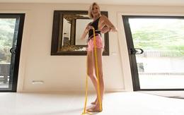 1m31 mới chính hiệu là đôi chân dài tới nách trong truyền thuyết