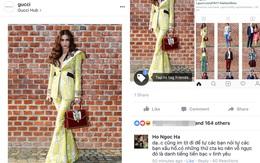 """Vừa xôn xao tin đồn bị """"bơ"""" vì mặc xấu, Instagram của Gucci lập tức đăng ảnh của Hồ Ngọc Hà"""