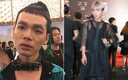 """Lông mày lá dừa, con trai mặc đầm xuyên thấu: VIFW 2017 mới 2 ngày đã hội tụ đủ """"thời trang lạ""""!"""