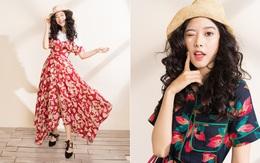 Váy hoa có tới 6 công thức mix cực yêu đảm bảo nàng nào cũng mê tít