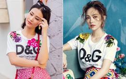 Đông Nhi & Minh Hằng chơi quá sang, chi hơn 28 triệu đồng chỉ cho một chiếc áo thun trắng