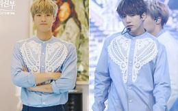 """Nam thứ """"Cô Dâu Thủy Thần"""" đụng hàng thành viên BTS, ai mặc đẹp hơn?"""
