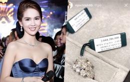 Ngọc Trinh úp mở khoe nhẫn kim cương mới mua hơn 2 tỷ đồng?