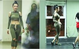 Mặc dù bệnh nhưng Angela Phương Trinh vẫn miệt mài tập vũ đạo đến tận khuya