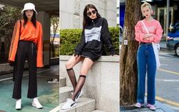 Miền Bắc sắp đón không khí lạnh, ngắm ngay street style của giới trẻ Hàn để biết cách mix đồ đẹp quên sầu