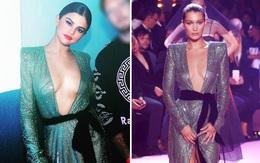 Oan gia ngõ hẹp: Selena Gomez vừa diện lại chiếc váy từng suýt làm Bella Hadid lộ hàng