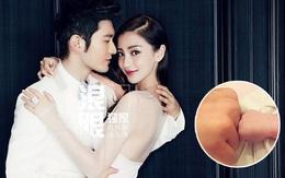 Đây là hình ảnh đầu tiên của quý tử nhà Angela Baby - Huỳnh Hiểu Minh