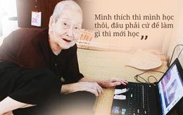 """Gặp cụ bà 97 tuổi được phong """"sành sỏi Internet nhất Việt Nam"""": Tôi bị ung thư 3 năm nay, nhưng còn sức thì còn học!"""