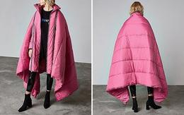 Mẫu áo khoác kiêm chăn bông dành cho những con sâu ngủ ngại dậy sớm vào mùa đông
