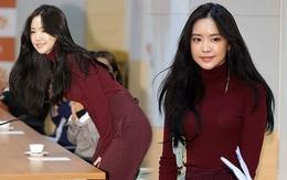 Dáng chuẩn eo thon, ngọc nữ Naeun (A Pink) lại doạ fan với gương mặt đơ cứng, sưng phồng khác thường