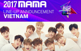 WANNA ONE và SEVENTEEN được Mnet xác nhận biểu diễn tại MAMA 2017 ở Việt Nam!