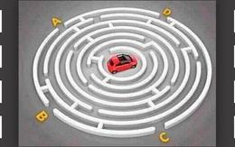 Người có IQ cao sẽ tìm được lối thoát cho chiếc ô tô đang ở trong mê cung
