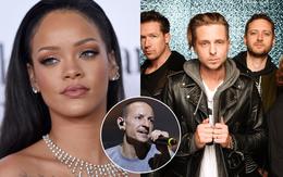 Rihanna cùng loạt sao thế giới khóc than trước tin huyền thoại Chester Bennington qua đời