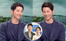 Song Joong Ki dành tặng bài hát Song Hye Kyo yêu thích ngay trên sóng truyền hình