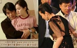 """Những pha """"động chạm"""" công khai kinh điển của các sao nam châu Á với đồng nghiệp nữ"""