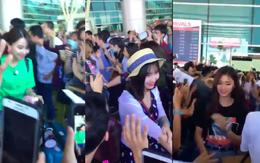 Clip: TWICE cười tươi rói trong đám đông fan Việt hỗn loạn tại sân bay Đà Nẵng