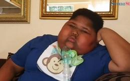 Em chã 10 tuổi nặng 90kg đói tới nỗi có thể cạo bụi bẩn trên sàn ra để ăn