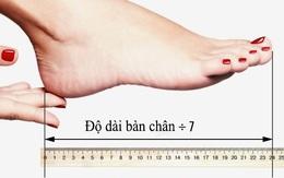 Giúp bạn tính chiều cao của giày cao gót phù hợp với mình để không còn bị đau chân