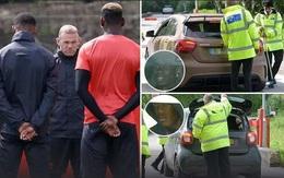 Xe cầu thủ Man Utd bị kiểm tra sau vụ nổ bom ở Manchester