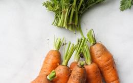 Khi mua cà rốt về, đầu bếp giỏi sẽ luôn bỏ phần này và đây là lí do