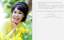 Việt Hương viết thư tay xin lỗi đồng nghiệp và khán giả sau sự cố làm MC thô tục tại đám cưới