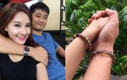 """Giữa tâm bão nghi vấn """"thả thính"""" Việt Anh, Bảo Thanh khoe ảnh nắm tay chồng hạnh phúc"""